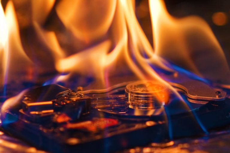 Lost And Found: Man Recovers Bitcoin From Hard Drive Burned In A Fire