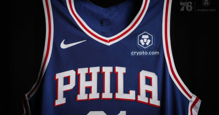 76ers Become Second NBA Team to Ink Crypto Ad Patch Deal